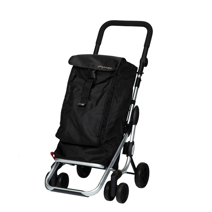 Playmarket Go Up Boodschappentrolley black - 1