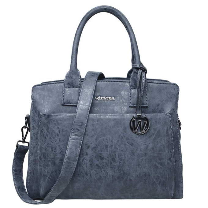 Wimona Isabella Dames Laptoptas dark blue - 1