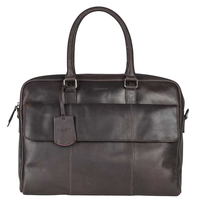 "Burkely On The Move Laptopbag 15"" Flap brown - 1"