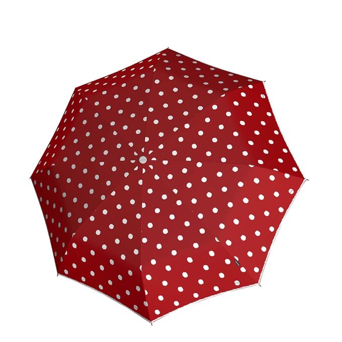 Knirps T-010 Small Manual Paraplu dot art red - 1