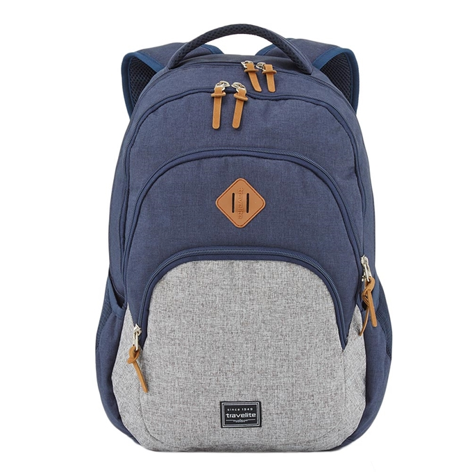 Travelite Basics Backpack Melange navy/grey - 1