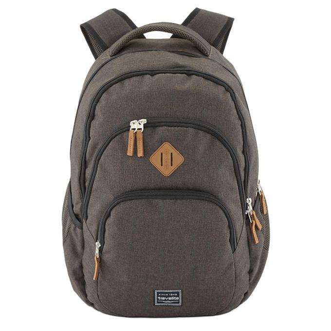 Travelite Basics Backpack Melange brown - 1