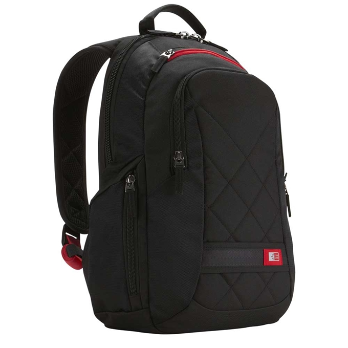 "Case Logic DLBP Line Laptop Backpack 14"" black - 1"