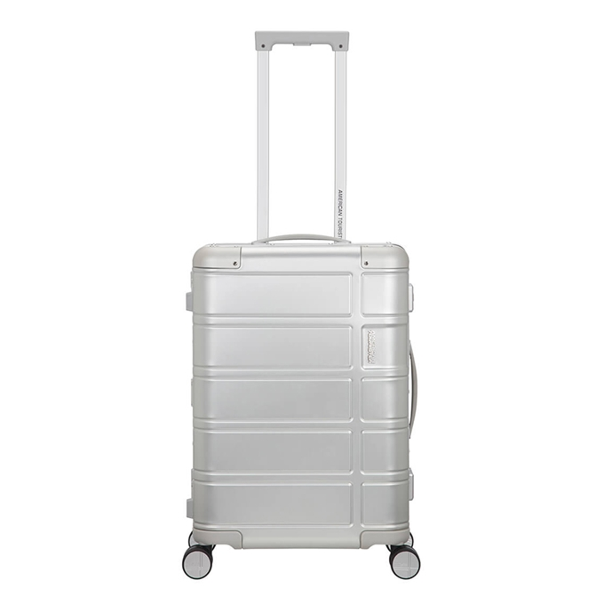 American Tourister Alumo Spinner 55 silver - 1