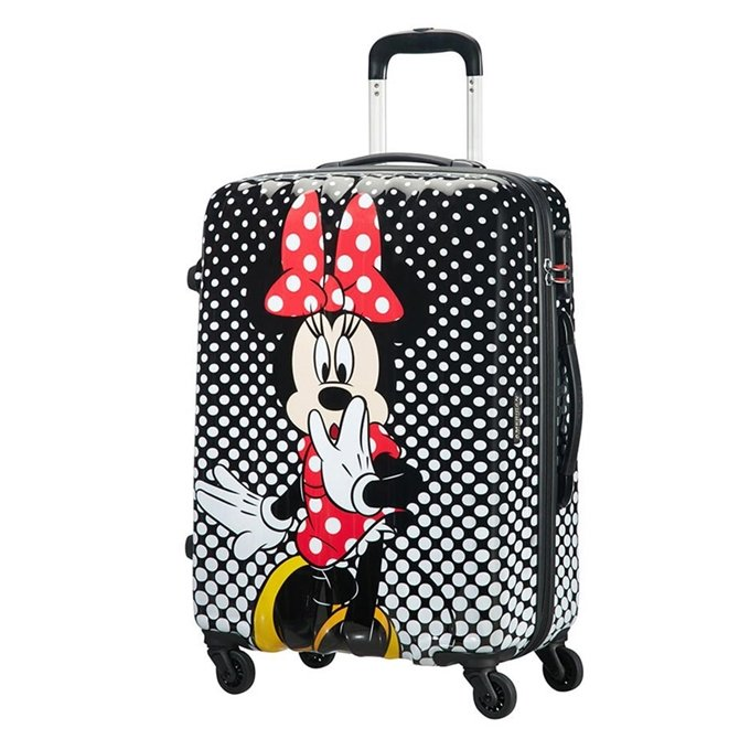 American Tourister Disney Legends Spinner 65 Alfatwist minnie mouse polka dot - 1