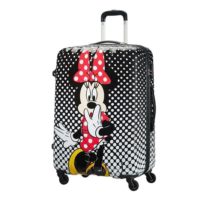 American Tourister Disney Legends Spinner 75 Alfatwist minnie mouse polka dot - 1