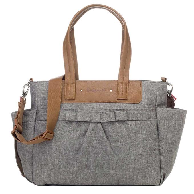 Babymel Cara Diaper Bag Bloom grey - 1