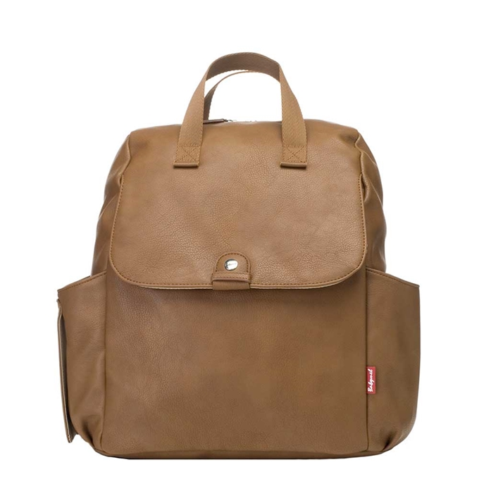 Babymel Robyn Convertible Backpack faux leather tan - 1