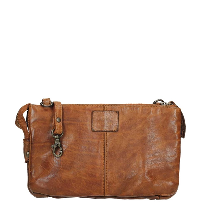 Bear Design Cow Lavato Clutch cognac2 - 1