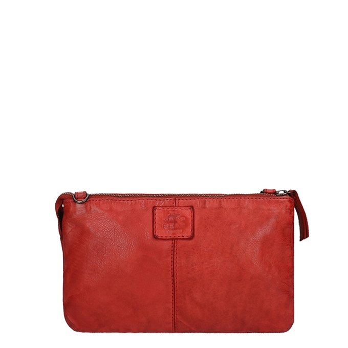 Bear Design Cow Lavato Clutch rood - 1