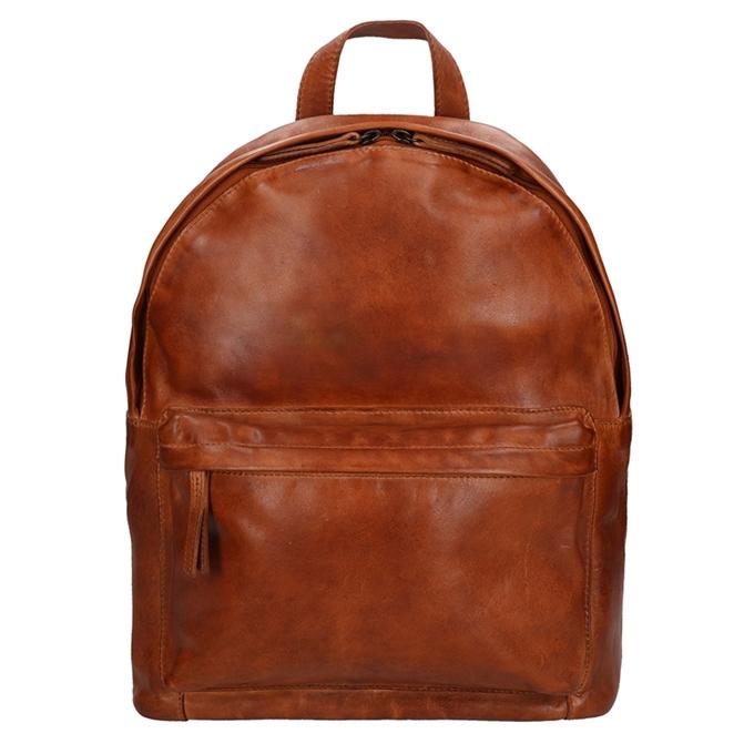 Bear Design Cow Lavato Backpack cognac2 - 1