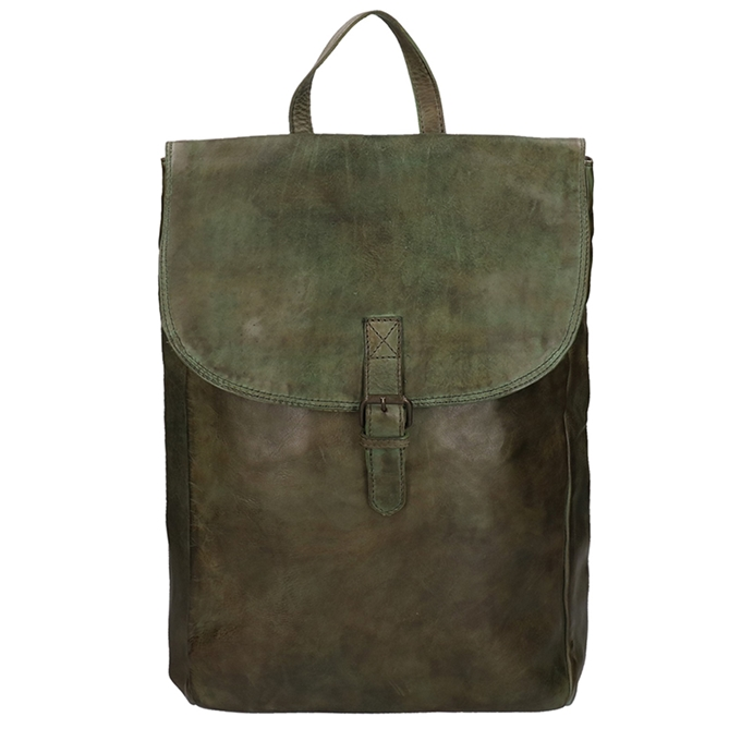 Bear Design Cow Lavato Backpack green II - 1