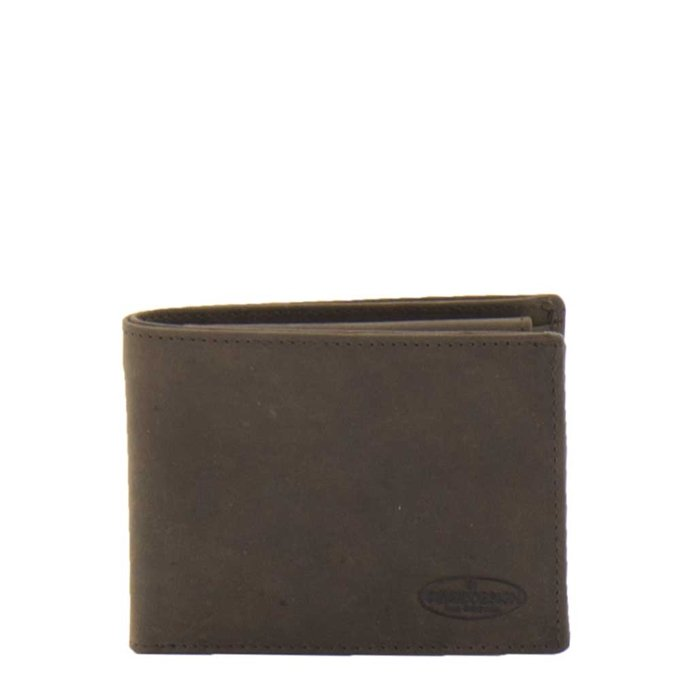 Bear Design Dark Nature Billfold brown2 - 1