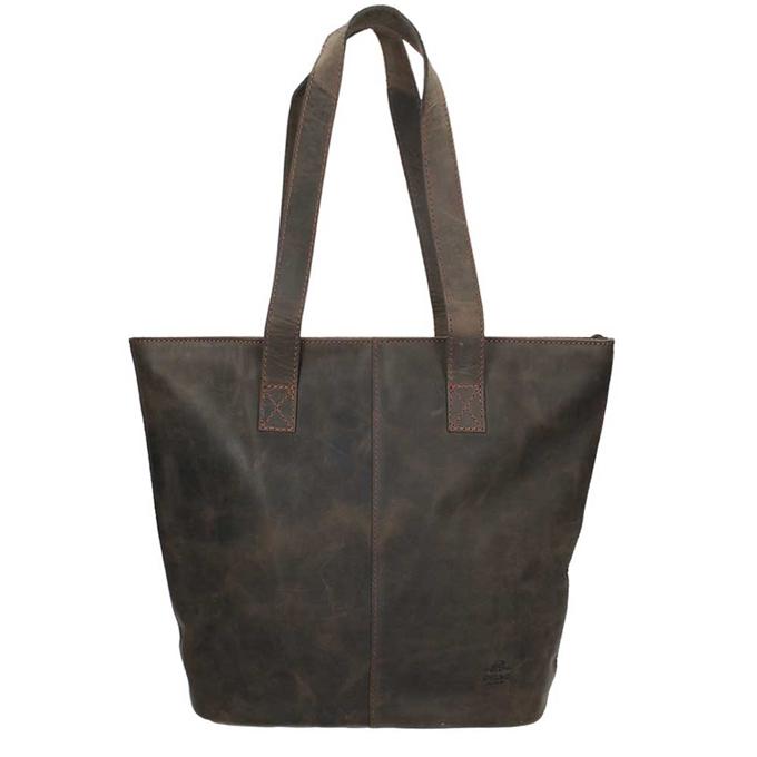 Bear Design Dark Nature Shopper brown - 1