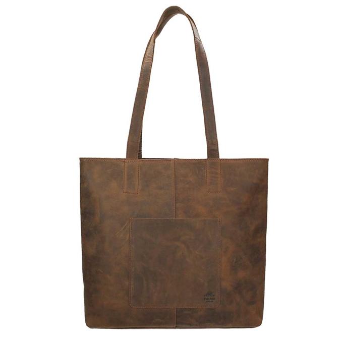 Bear Design Dark Nature Shopper brown2 - 1