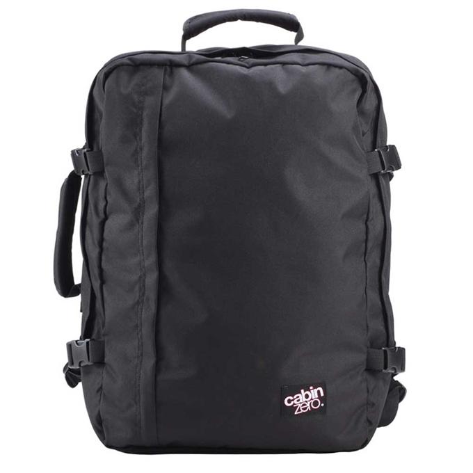 CabinZero Classic 44L Ultra Light Cabin Bag absolute black