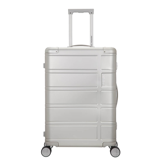 American Tourister Alumo Spinner 67 silver - 1