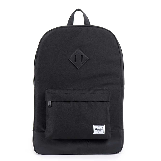 Herschel Supply Co. Heritage Rugzak black/black - 1