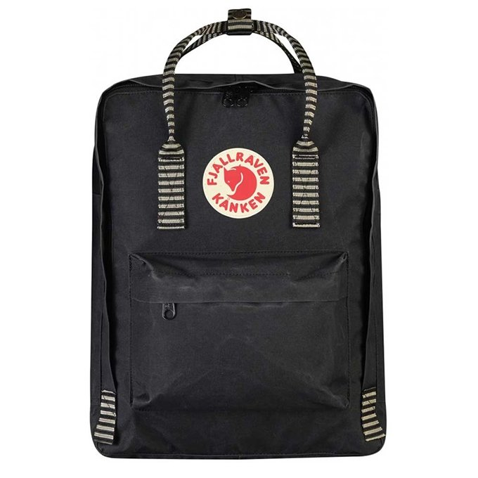 Fjallraven Kanken Rugzak black / striped
