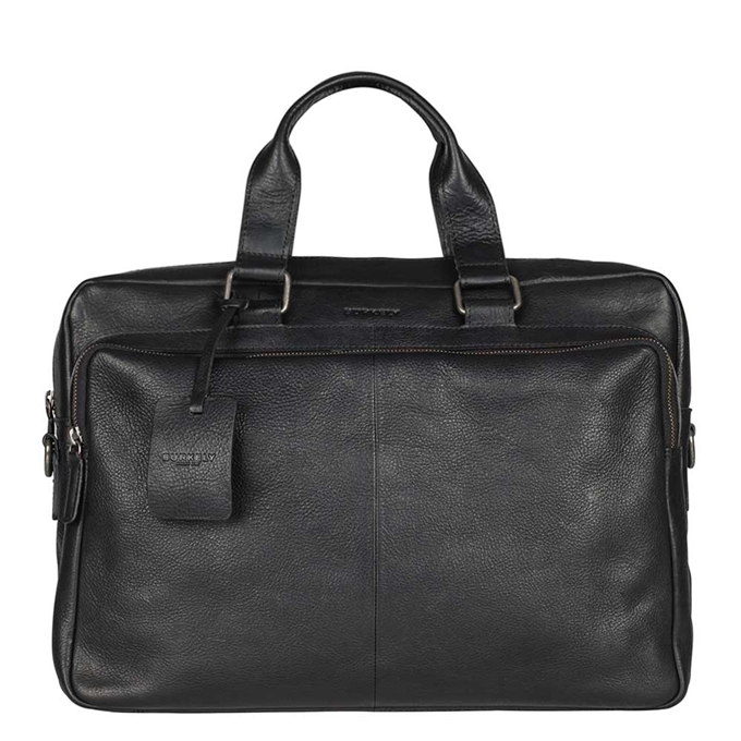 "Burkely Antique Avery Workbag 15.6"" black - 1"