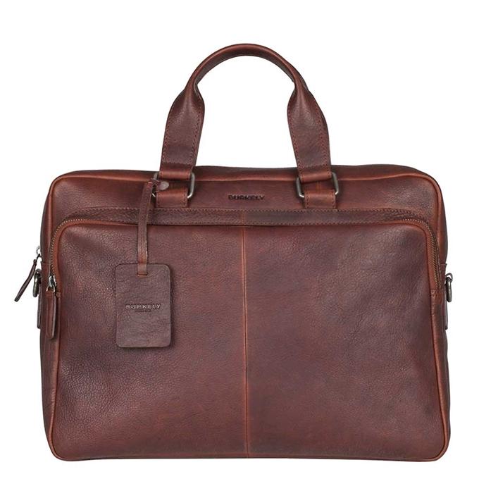 """Burkely Antique Avery Workbag 15.6"""" dark brown - 1"""