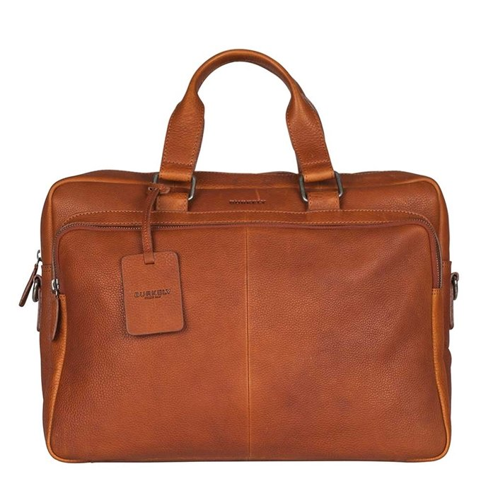 "Burkely Antique Avery Workbag 15.6"" cognac - 1"