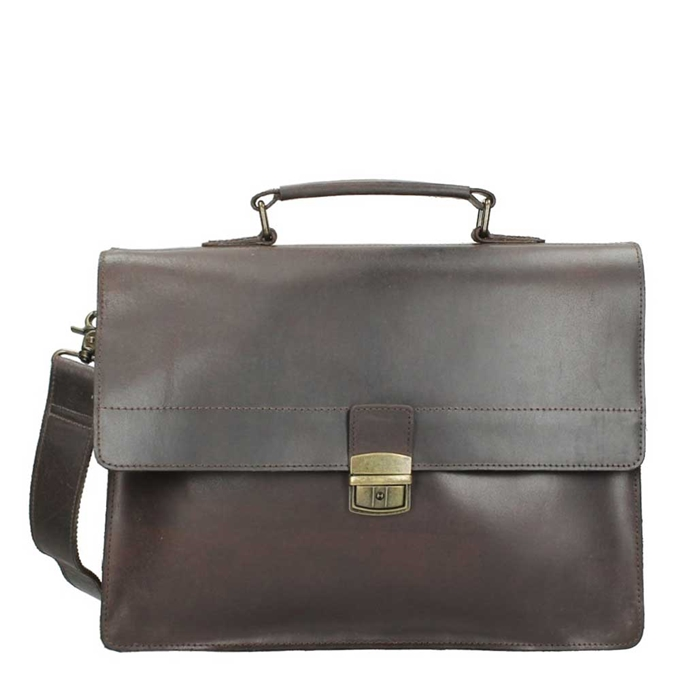 Burkely Vintage Dean Briefcase brown - 1