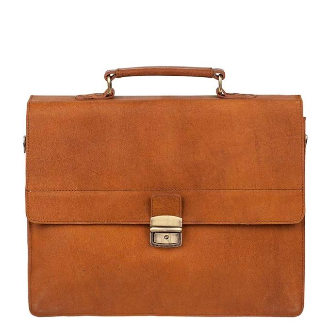 Burkely Vintage Dean Briefcase cognac - 1