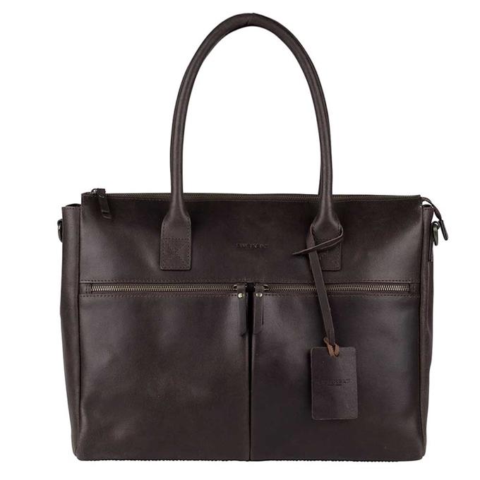 "Burkely Vintage Valerie Laptop Bag 15"" brown - 1"
