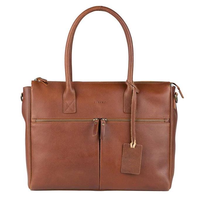 "Burkely Vintage Valerie Laptop Bag 15"" cognac - 1"