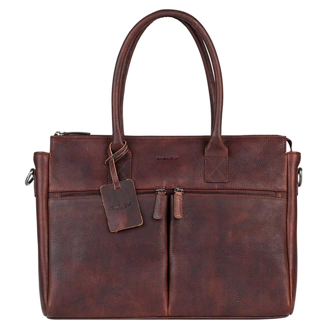 """Burkely Antique Avery Laptopbag 15.6"""" brown - 1"""