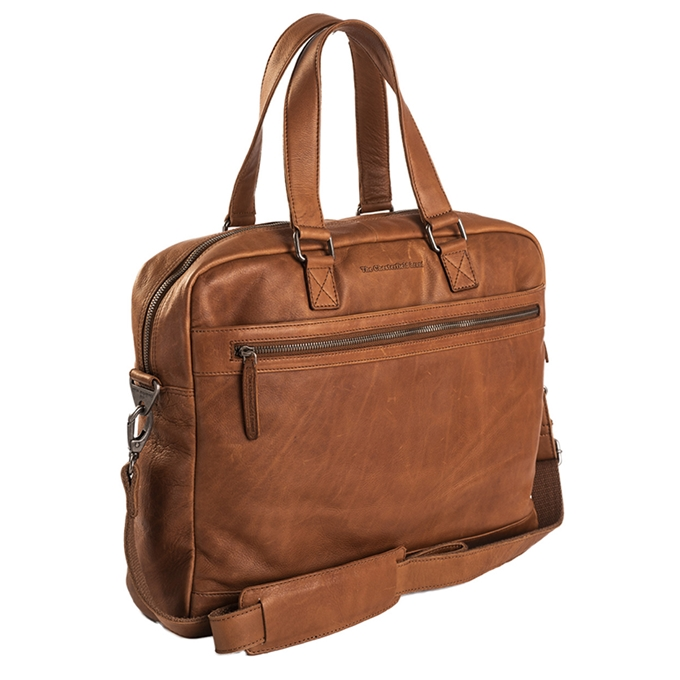 The Chesterfield Brand Blackburn Laptop/Schoolbag cognac - 1