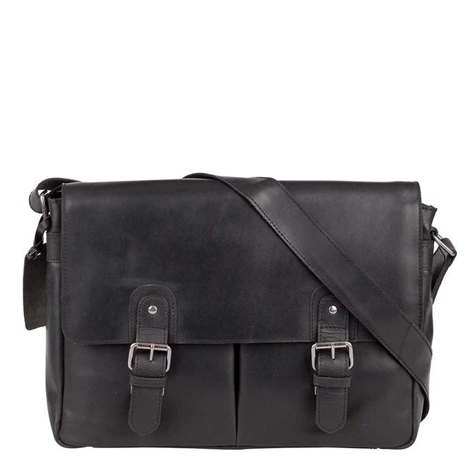 Burkely Vintage Glenn Messenger Bag black - 1