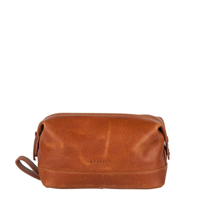 Burkely Vintage Riley Toiletry Bag cognac - 1