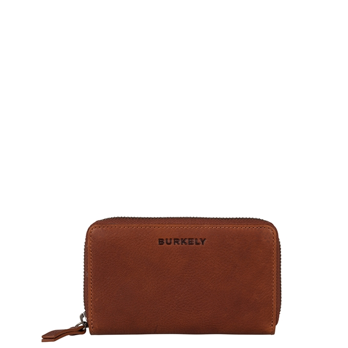 Burkely Antique Avery Wallet M Back Zipper cognac - 1