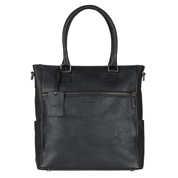 Burkely Antique Avery Shopper black - 1