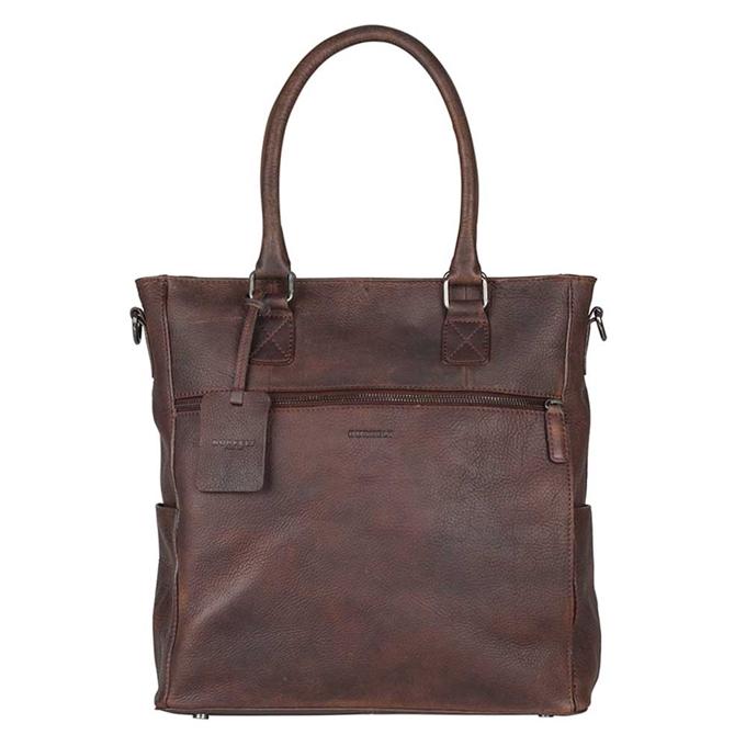 Burkely Antique Avery Shopper dark brown - 1