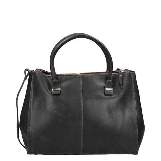 Burkely Vintage Wieske 2-Zipper Bag black - 1