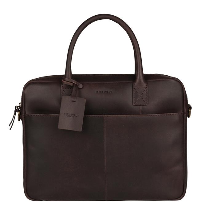 Burkely Vintage Jack Worker 13.3'' dark brown - 1