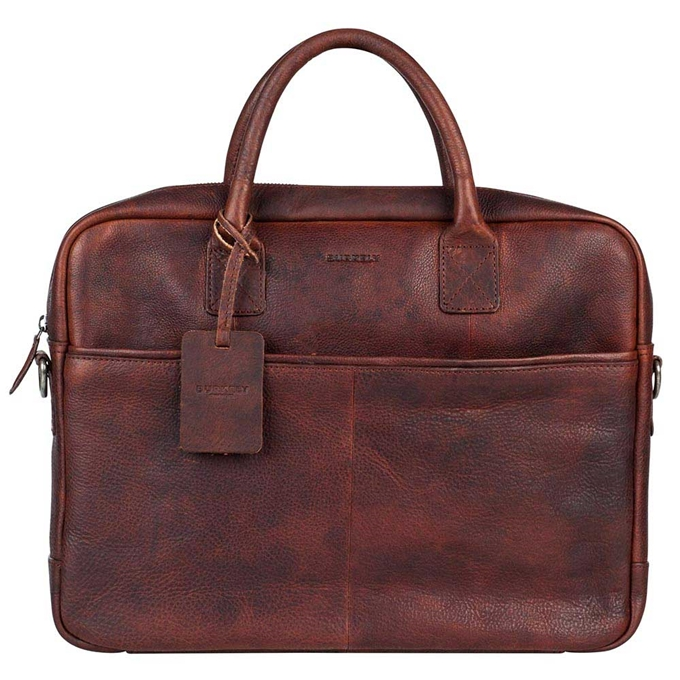 "Burkely Antique Avery Laptopbag 15"" brown"
