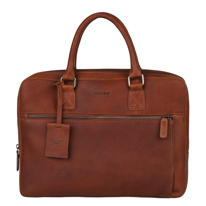 Burkely Antique Avery Laptopbag 13.3'' cognac - 1