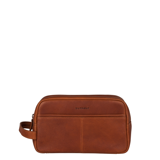 Burkely Antique Avery Toiletry Bag cognac - 1
