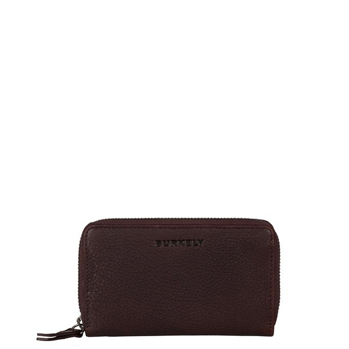 Burkely Antique Avery Wallet M Back Zipper dark brown - 1