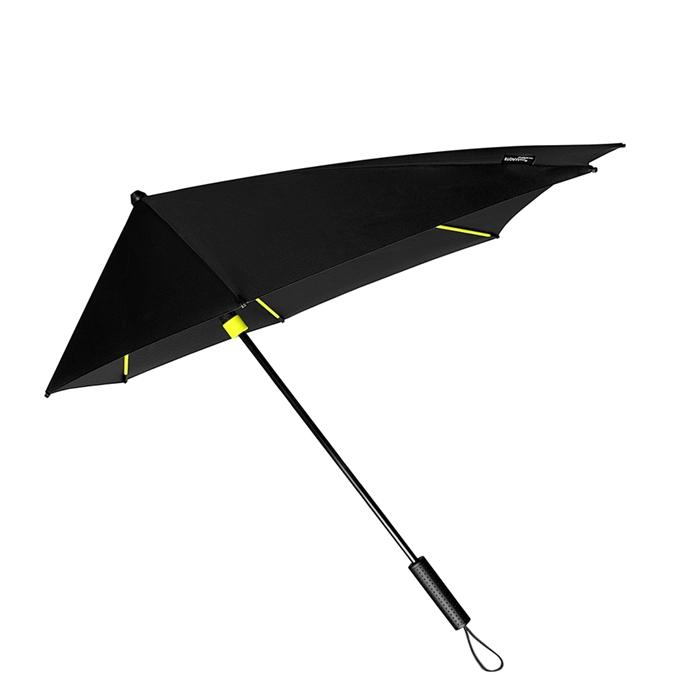 Impliva STORMaxi Aerodynamische Stormparaplu Special Edition zwart / geel - 1