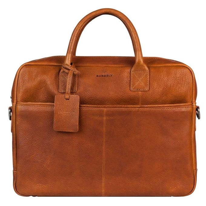 "Burkely Antique Avery Laptopbag 15"" cognac"
