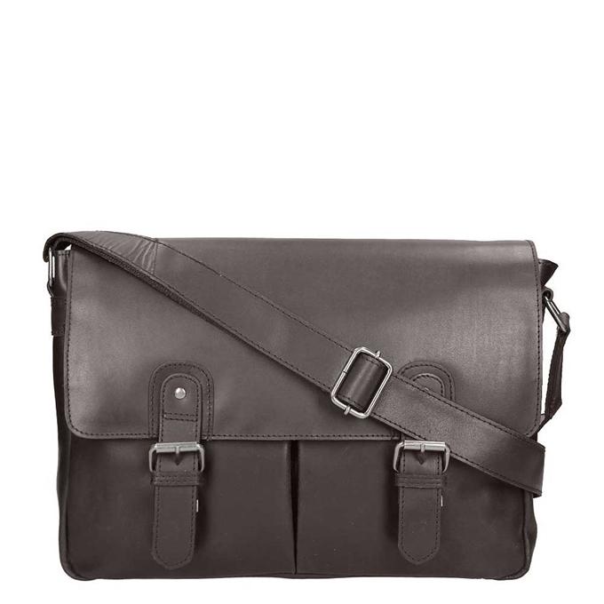Burkely Vintage Glenn Messenger Bag brown - 1