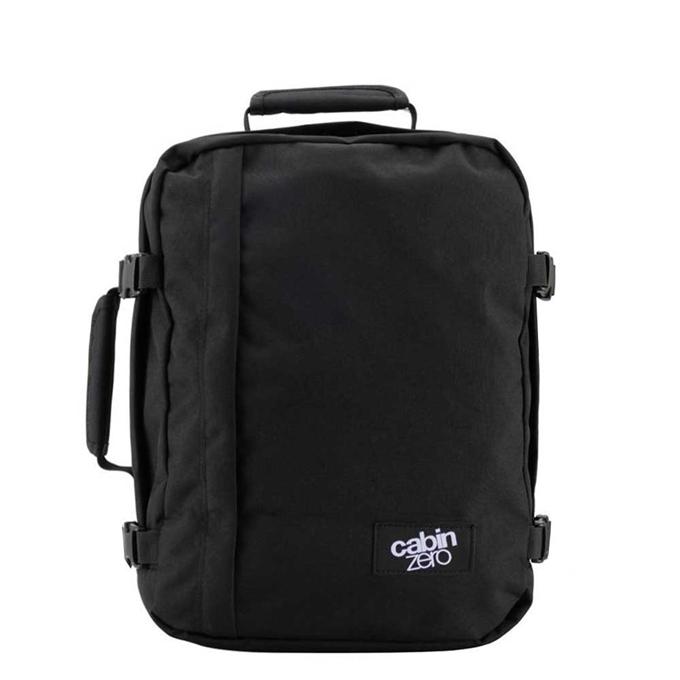 CabinZero Classic 28L Ultra Light Cabin Bag absolute black