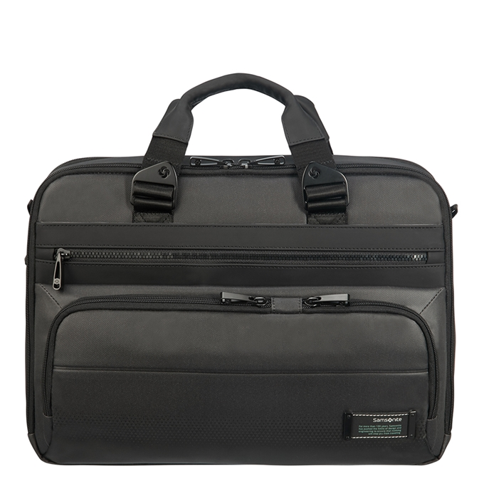 Samsonite Cityvibe 2.0 Laptop Bailhandle 15.6'' Expandable jet black - 1