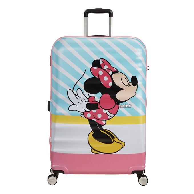 American Tourister Wavebreaker Disney Spinner 77 minnie pink kiss - 1