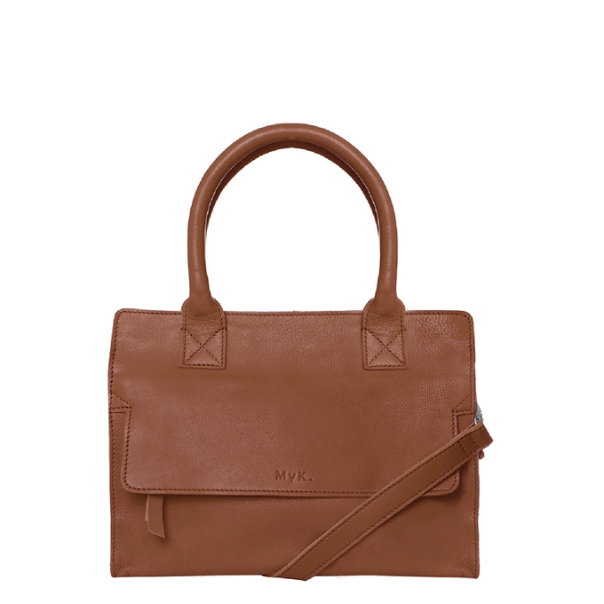 MyK. Cityhopper Bag caramel